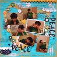 PEACE PEACE (double peace)