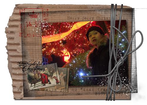 Wonderful Christmas {card